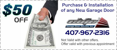 Elite garage door solutions inc repair services for Garage door repair in kissimmee fl